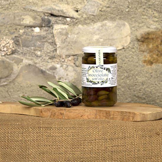 Picture of Olive Taggiasche Snocciolate in Olio di Oliva